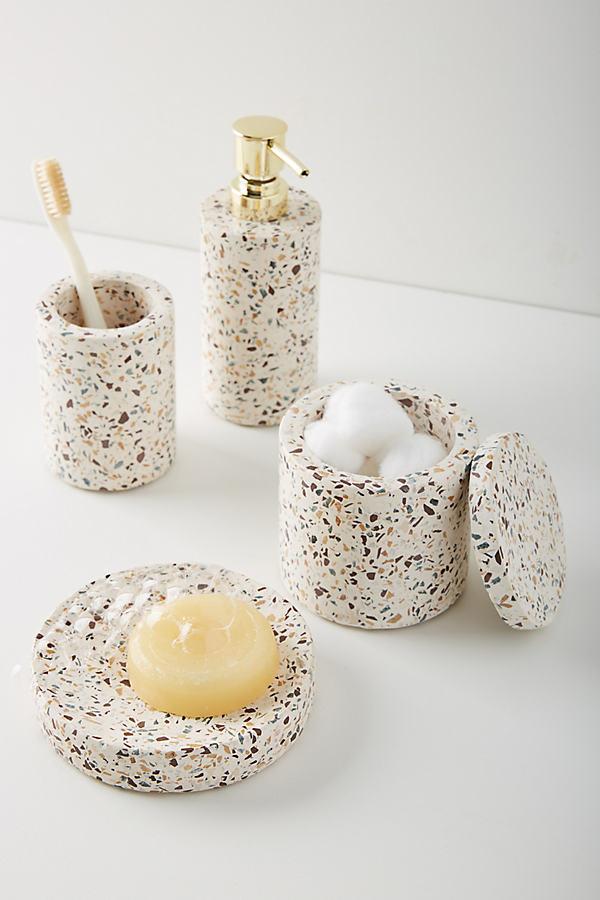 Terrazzo Bath Collection - Beige, Size Xl