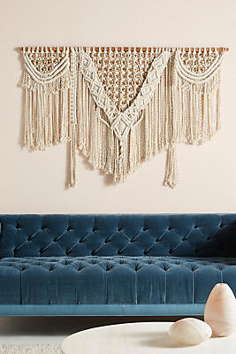 Slide View: 1: Handwoven Lenny Wall Hanging