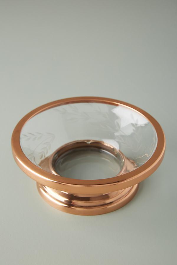 Meadow Bath Soap Dish - Brown, Size M