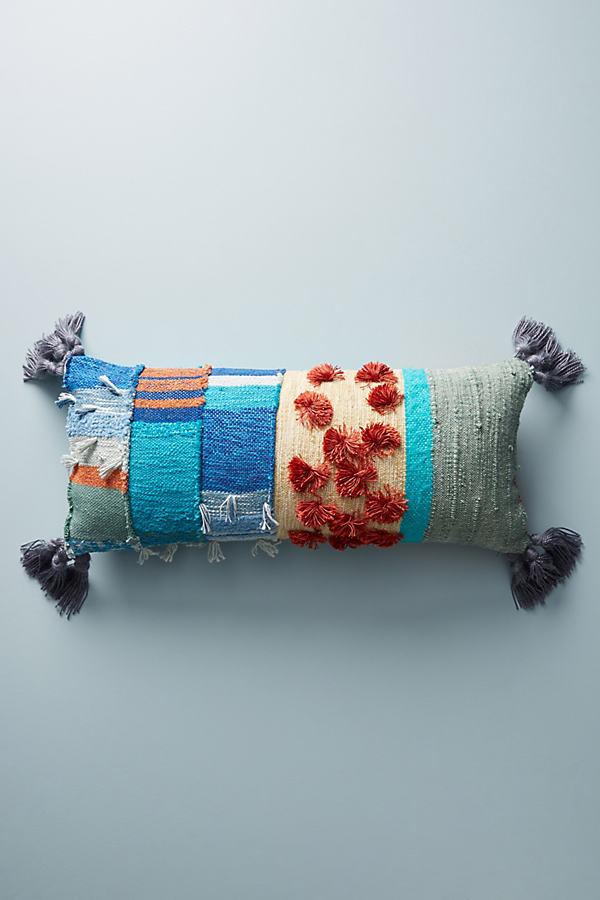 All Roads Baja Cushion - Blue, Size 12 X 27