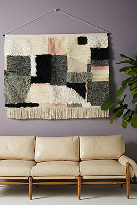 Slide View: 1: Handwoven Seraphina Wall Hanging