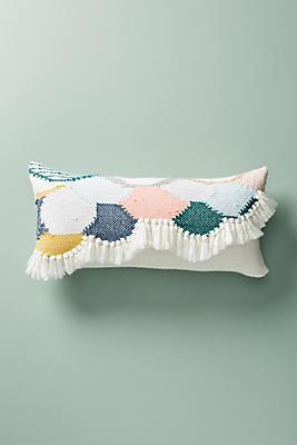 Slide View: 1: Hello Hydrangea Knit Pillow