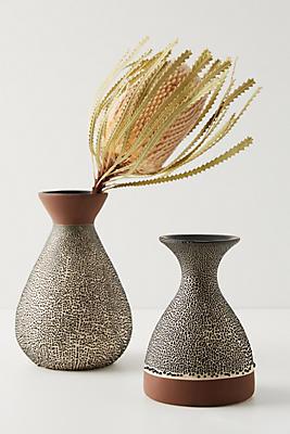 Slide View: 5: Spotted Ceramic Vase