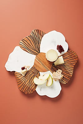 Slide View: 1: Handmade Bloom Cheese Board