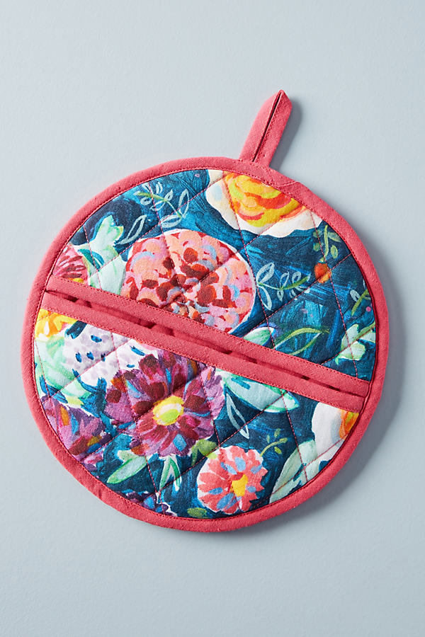 Emma Floral Potholder - Assorted, Size Potholder