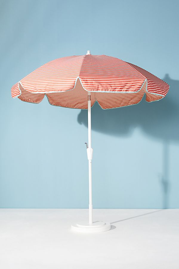 Slide View: 1: Cabana Outdoor Umbrella