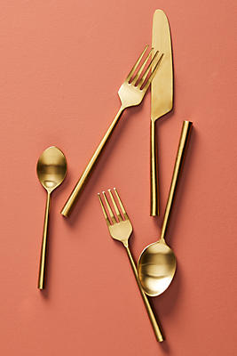 Slide View: 1: Streamlined Flatware