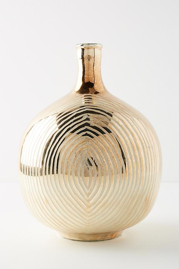 Autumnal Mercury Vase - Brown, Size L