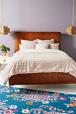 Slide View: 1: Textured Mareika Duvet Cover