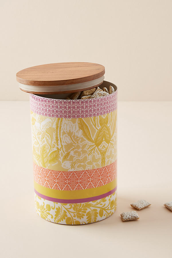 Jacquard Canister - Assorted, Size M