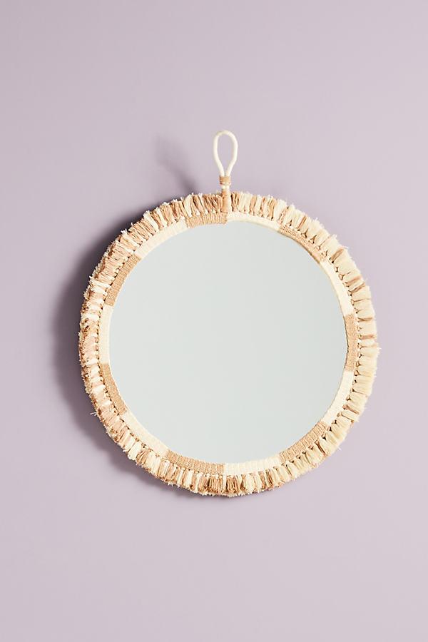 Cassia Mirror - Beige, Size M