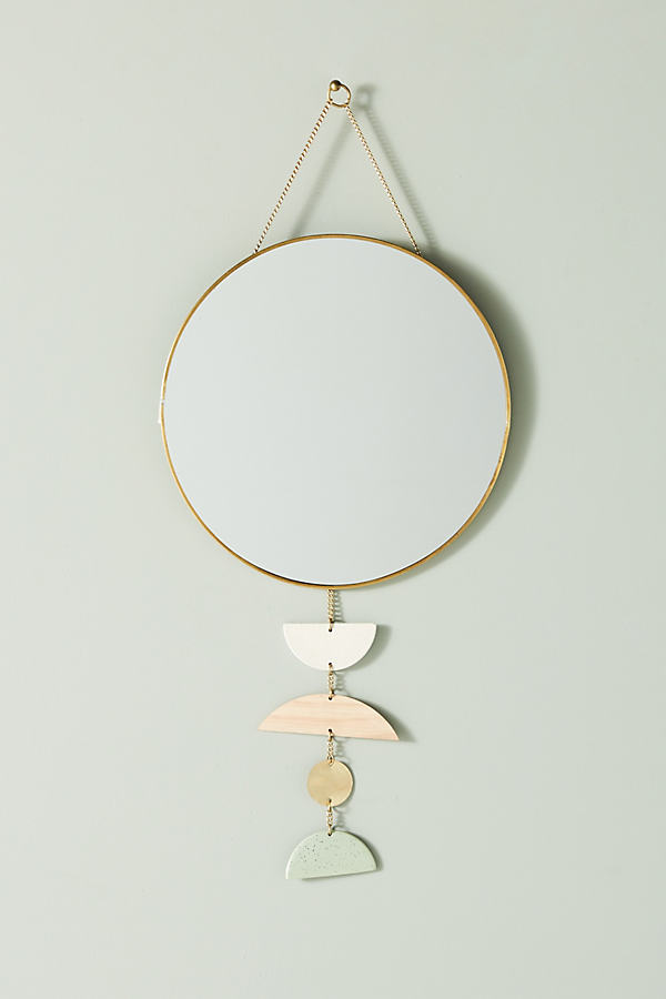 Marjeta Hanging Mirror - Blue, Size S
