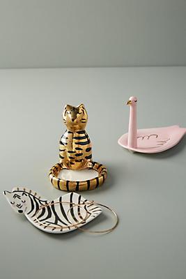 Slide View: 3: Gail CC Ceramics Trinket Dish