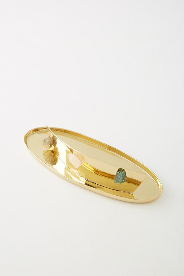 Louise Trinket Dish - Gold, Size M