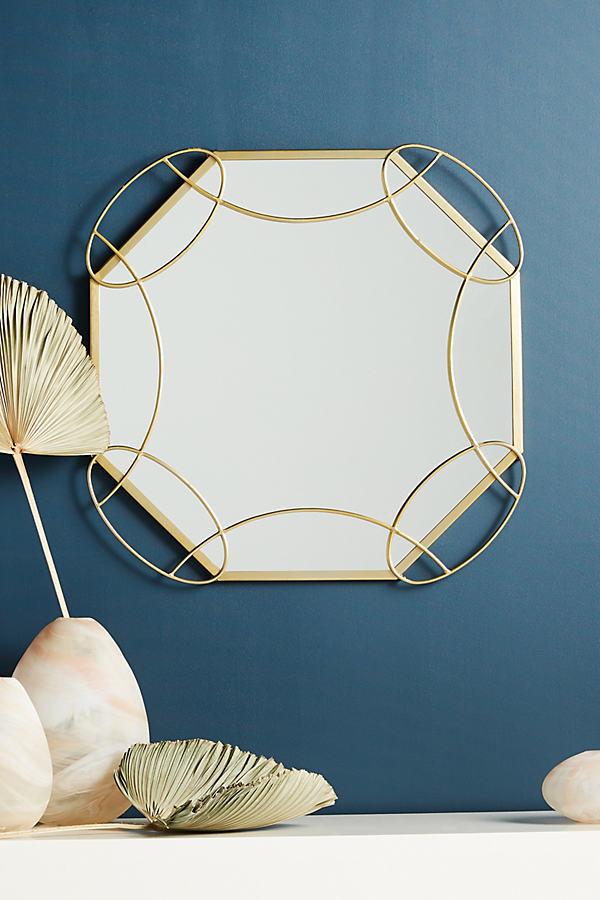 Heidi Mirror - Gold, Size Xs