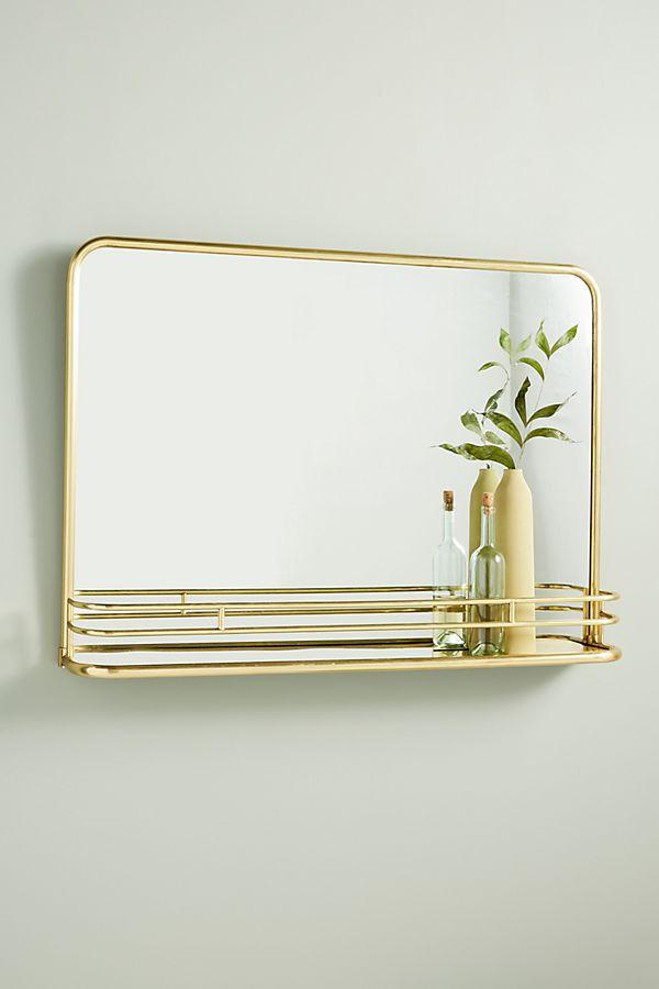 Slide View: 1: Georgie Shelved Mirror