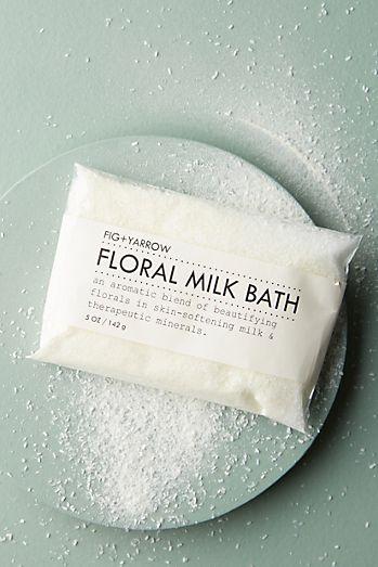 Fig Yarrow Floral Milk Bath Packet