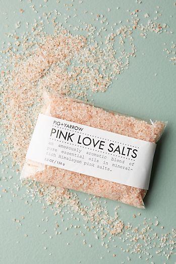 Fig Yarrow Pink Love Bath Salts Packet