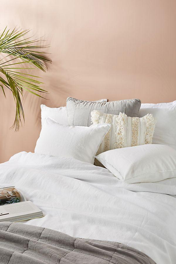 Slide View: 1: Pom Pom At Home Blair Linen Duvet Cover