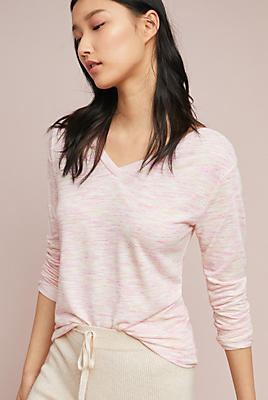 Slide View: 1: Andrea V-Neck Pullover