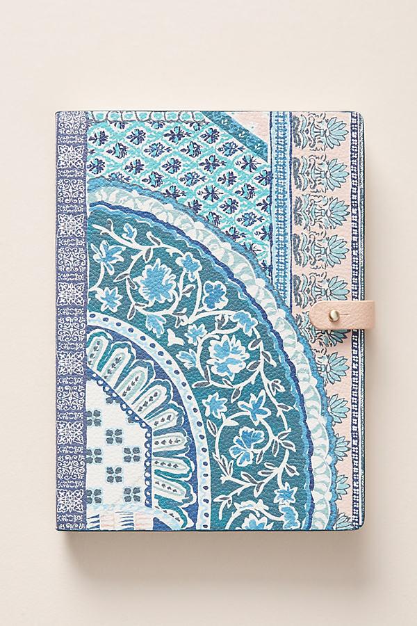 Zinnia Journal - Blue