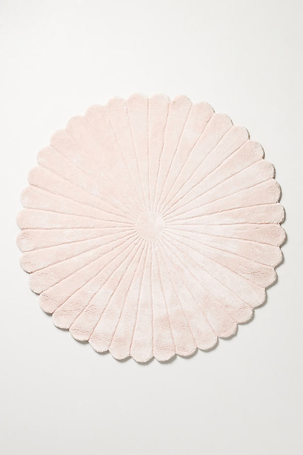 Bethan Gray Feather Collection Rug - Pink, Size 8 D