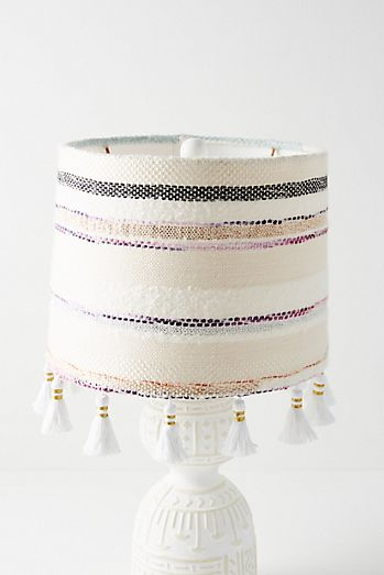 woven sunstreak lamp shade - Unique Lamp Shades
