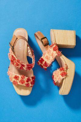 Silent D Kase Slingback Heeled Sandals by Silent D