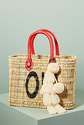 Slide View: 1: Jane Expressions Woven Tote Bag
