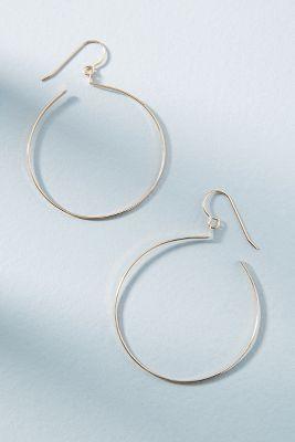 Hello Adorn Circumference Hoop Earrings dUKYx6DWB