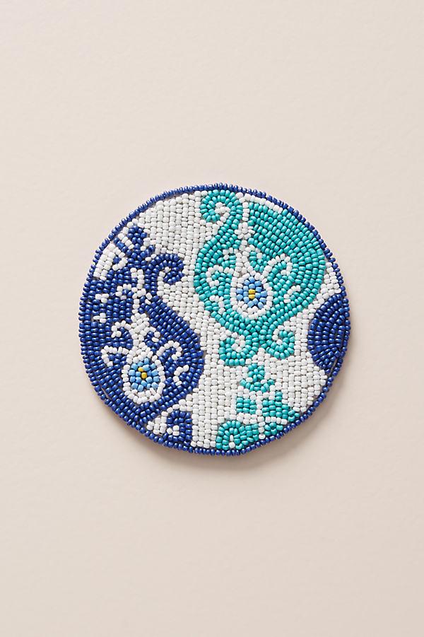 Beaded Coaster - Assorted, Size Coasters