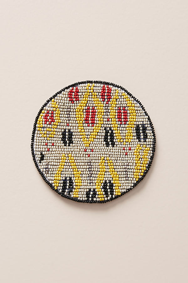 Beaded Coaster - Assorted, Size Coasters