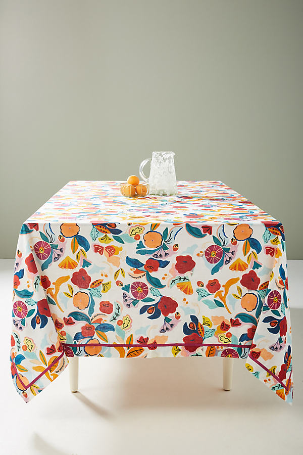 Aster Tablecloth - Assorted, Size Dbl Duvet