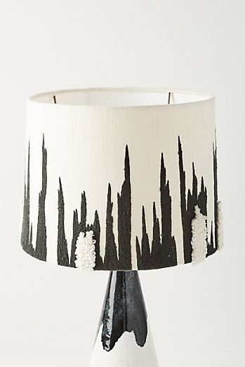 textured lorde lamp shade - Unique Lamp Shades