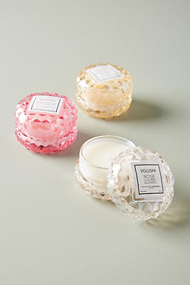 Slide View: 2: Voluspa Rose Mini Candle