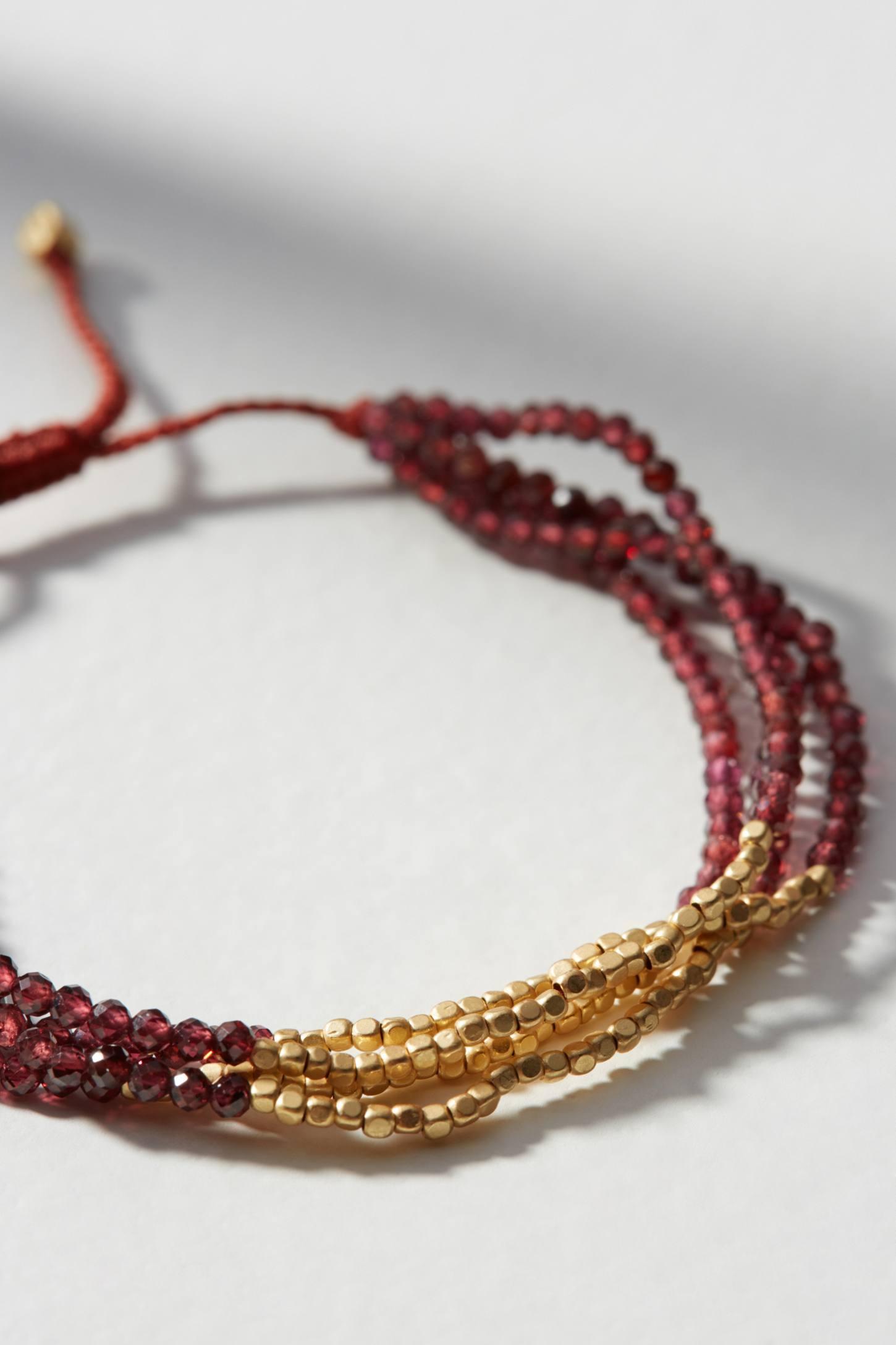 Anthropologie Venture Layered Bracelet jqMnP
