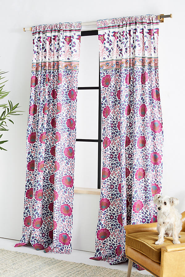 Lindie Curtain - Assorted, Size 108""