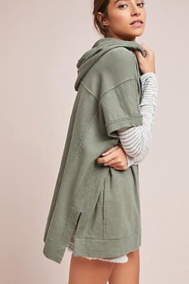 Slide View: 1: Hooded Beach Pullover