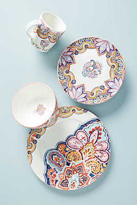 Slide View: 2: Zita Dinner Plate Set