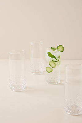 Slide View: 1: Simca Highball Glasses, Set of 4