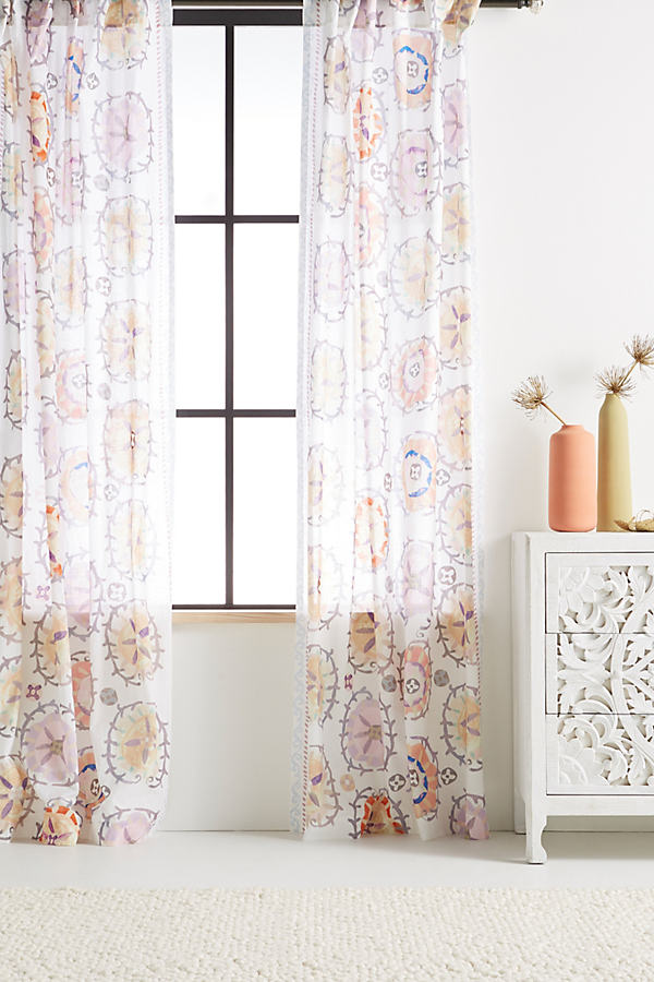 Edna Curtain - Assorted, Size 108""