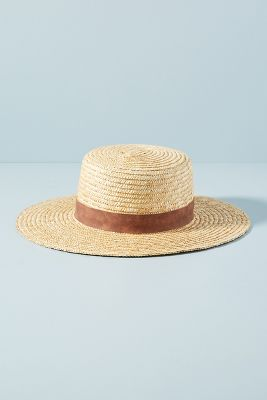 Aubrey Boater Hat by Wyeth