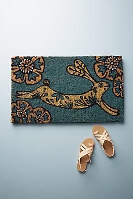Slide View: 1: Bunny Doormat
