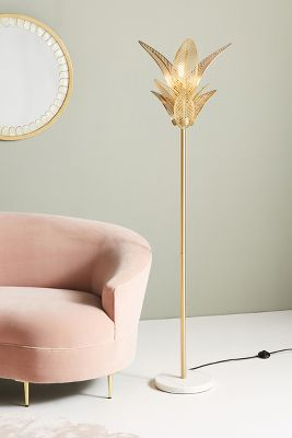 Palm Frond Floor Lamp by Anthropologie