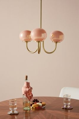 Pearl Led Chandelier by Anthropologie