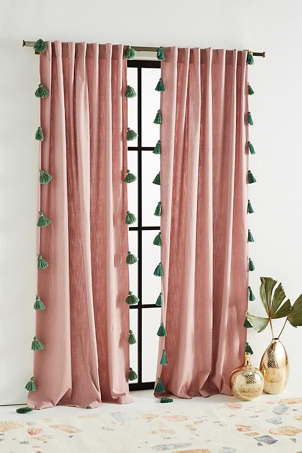 Mindra Curtain - Pink, Size 50 X 84