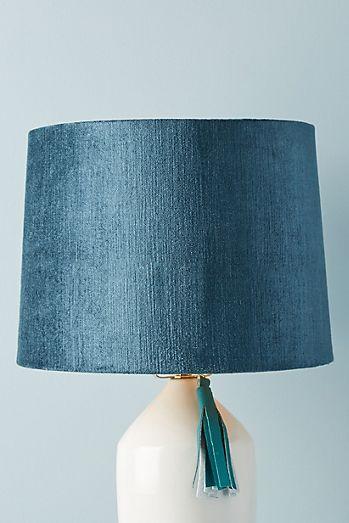Solid Velvet Lamp Shade