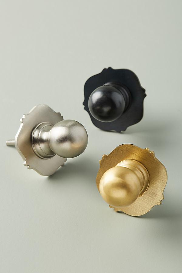 Avignon Knob - Silver