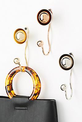 Slide View: 3: Domed Brass Hook