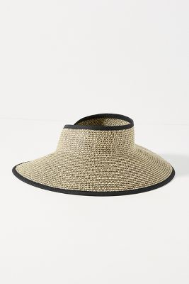 Charlene Roll Up Visor by Anthropologie